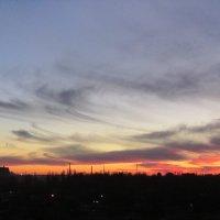 суровый закат :: tgtyjdrf