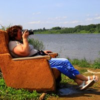 Кресло для уставших фотографов!! :: Алла ************