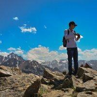 горы. красиво на высоте :: Горный турист Иван Иванов