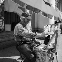 уличный художник :: сологенн .