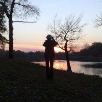 Жена снимает закат :: Александр Прокудин