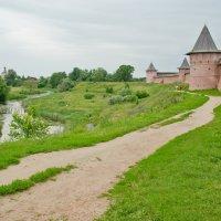 Суздальский пейзаж. :: Виктор Евстратов