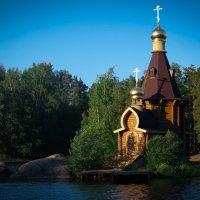 Церковь Андрея Первозванного на Вуоксе :: Евгения Кирильченко