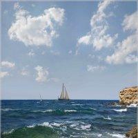 Морские просторы :: Эля Юрасова
