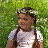 Ромашковая принцесса :: Елена Винник