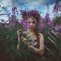 принцесса в цветах :: Екатерина Григорьева