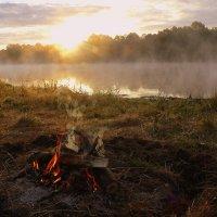 утро на рыбалке :: Александр Прокудин
