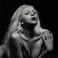 Black and white portrait. :: krivitskiy Кривицкий