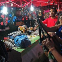 Лаос. Вьентьян. Лавка на ночном рынке :: Владимир Шибинский