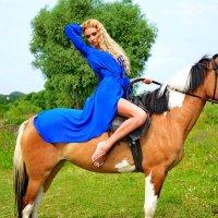 на лошади :: Наталия Григорьева