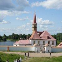 Приоратский дворец – архитектурный символ Гатчины :: Елена Павлова (Смолова)