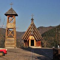Город деревянный :: Сергей Дабаев