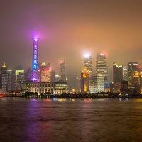 Ночной Шанхай :: Андрей Лукашенко