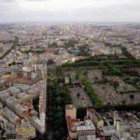 вид с 56 этажа (200 м) башни Монпарнас :: Александр Корчемный