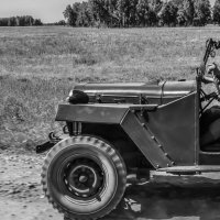 Мы вели машины, Объезжая мины :: Вадим Куликов