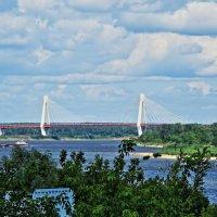 Муром,мост через Оку :: Сергей Цветков