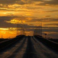 Мост через Обь на закате ► :: Владимир Belov