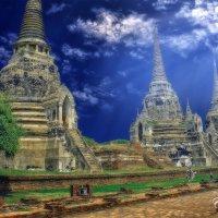 Аютайя (древняя столица Тайланда) :: Евгений Подложнюк