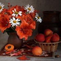 С абрикосами :: Алина