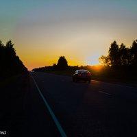 солнечный вечер :: Илона Дунаева