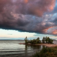 облачный закат :: Антон Лихач