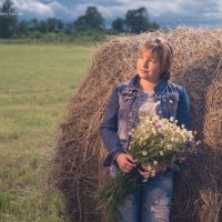 полевые цветы источник вдохновенья :: Денис Шевчук