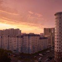 Вечерняя гроза в столице Самотлора! :: Александр Пащенко