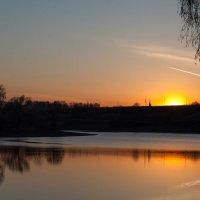 Закат, мошковский район :: Stas Malyshev