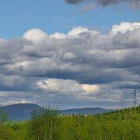 Там, за сопкой, залив и Мурманск. :: kolin marsh