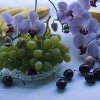 Орхидеи и черешня :: Aнна Зарубина