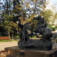 """Скульптура """"Купание коней"""" :: Елена"""