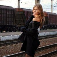 Train station :: Анастасия Кабдина