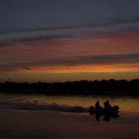 лодка на закате :: Марта