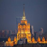 Москва с крыши :: Антон Веснин
