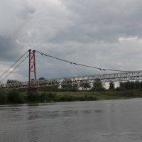 Мост через Иню в Сарапулке. :: Олег Афанасьевич Сергеев