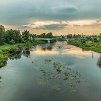 Боровичи. Река Мста. Фото 2. :: Вячеслав Касаткин