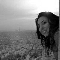 Я на куполе Сакре-Кёра.Париж :: Galina Belugina