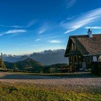 Домик в горах. Мечта! :: Zifa Dimitrieva