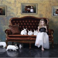 Арифметическая прогрессия, или быстро, как кролики :-) :: Виктория Иванова