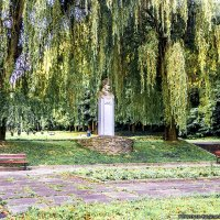 Памятник Богдану Хмельницкому - Львовский парк :: Богдан Петренко