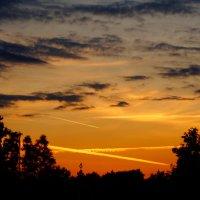 Закат на Поклонной горе :: Andy Bayt