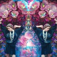 Цветочно-воздушная Анна :: Калина Жекова