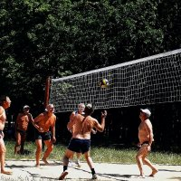 Пляжный волейбол Фото №4 :: Владимир Бровко