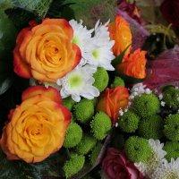 букет с двумя розами. :: Наталья Золотых-Сибирская