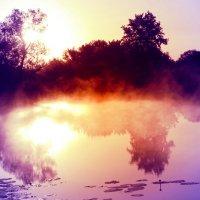 Утро туманное... :: Евгений Юрков