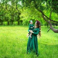Калиночка с мамой Кристиной :: Виктория Белых