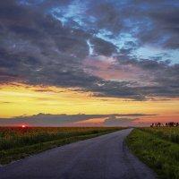 Летние закаты. :: Svetlana Sneg