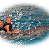Даша, дельфин и мечта..... :: Tatiana Markova
