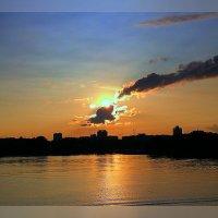 Метеорит над Москвой. :: Михаил Трофимов