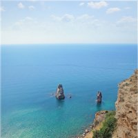 Скалы Орест и Пилад на Фиоленте (Крым, Севастополь) :: Эля Юрасова